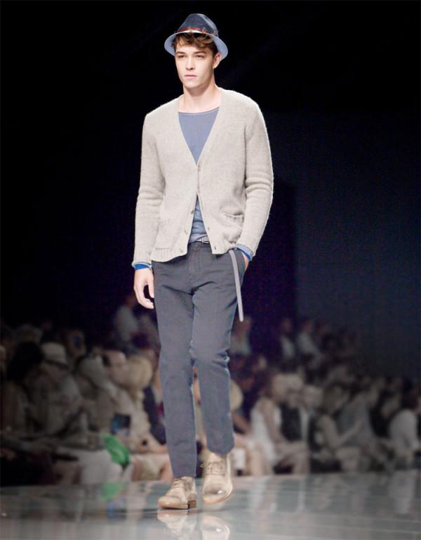 Зима 2012: коллекция мужской моды