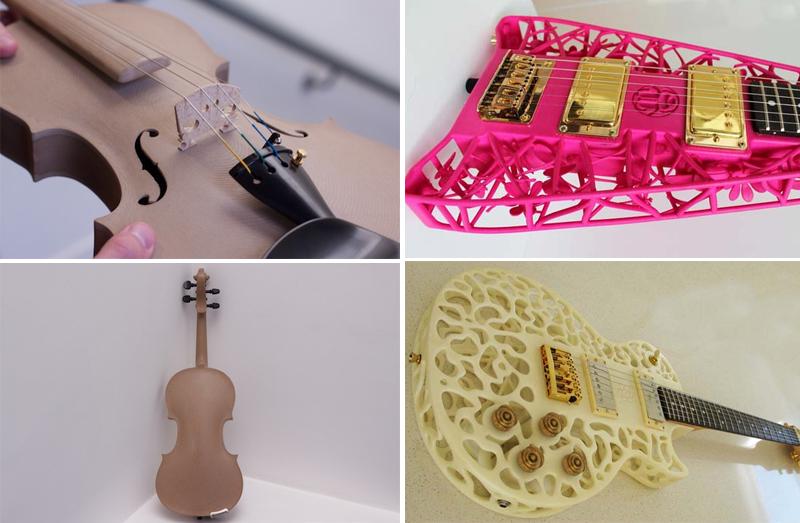 Музыкальные инструменты на 3d-принтере