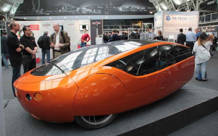 Автомобиль на 3d-принтере