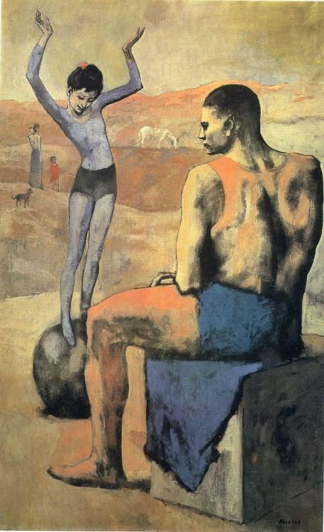 Девочка на шаре (Пабло Пикассо)