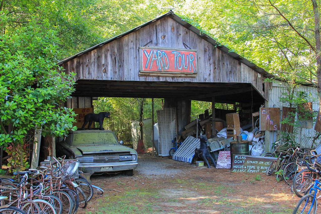 Кладбище старых автомобилей, фото 1