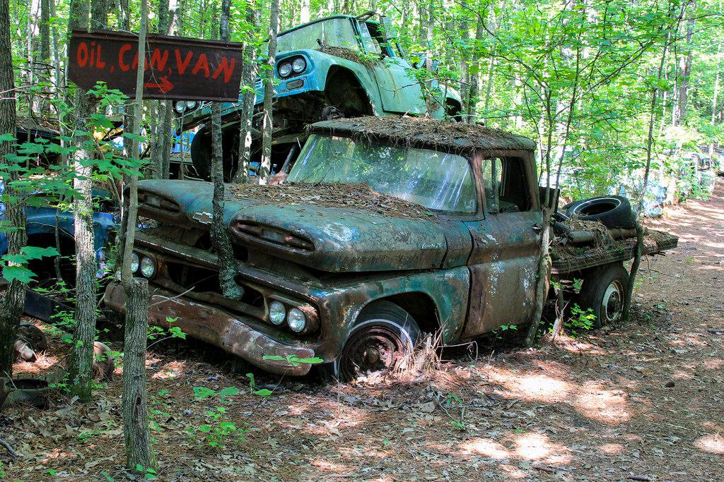 Кладбище старых автомобилей, фото 10