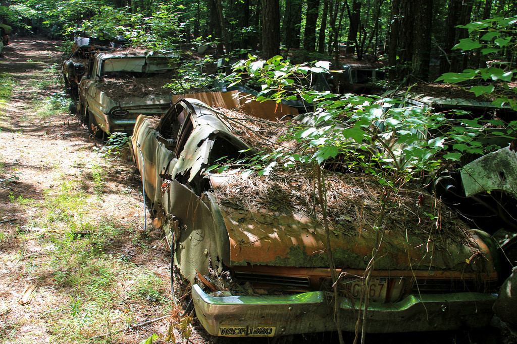 Кладбище старых автомобилей, фото 12
