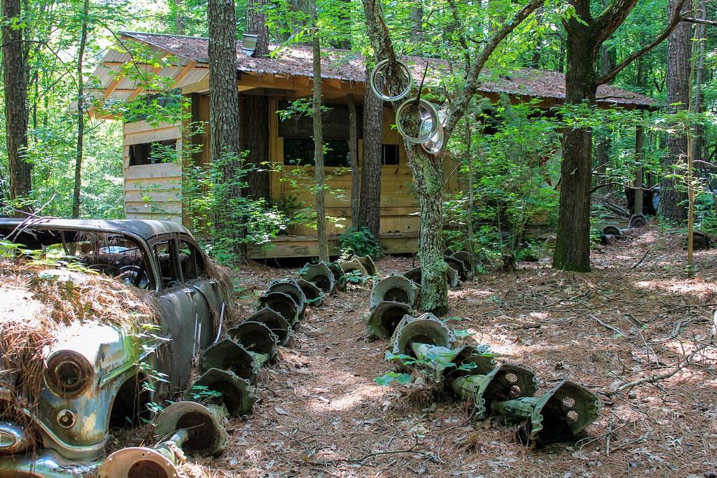 Кладбище старых автомобилей, фото 13