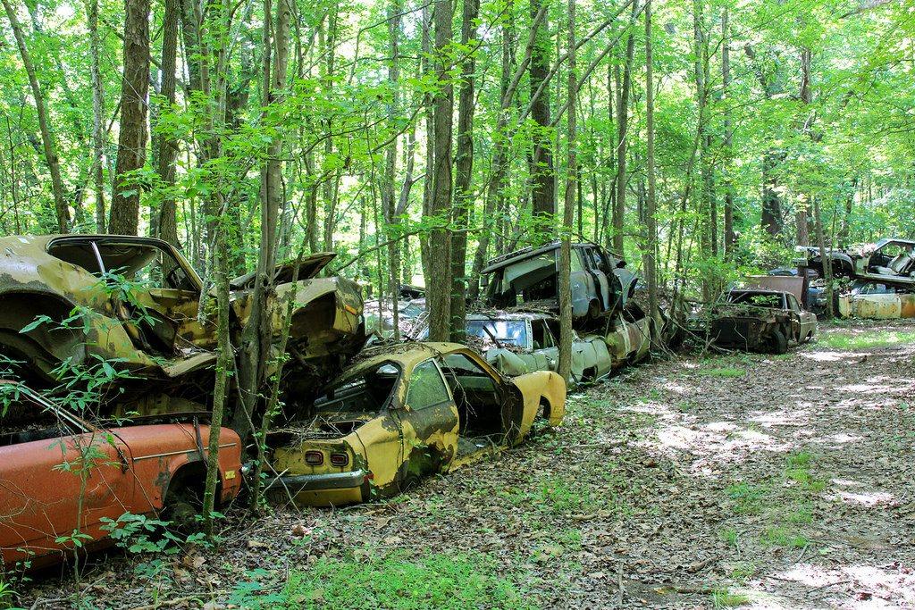 Кладбище старых автомобилей, фото 16
