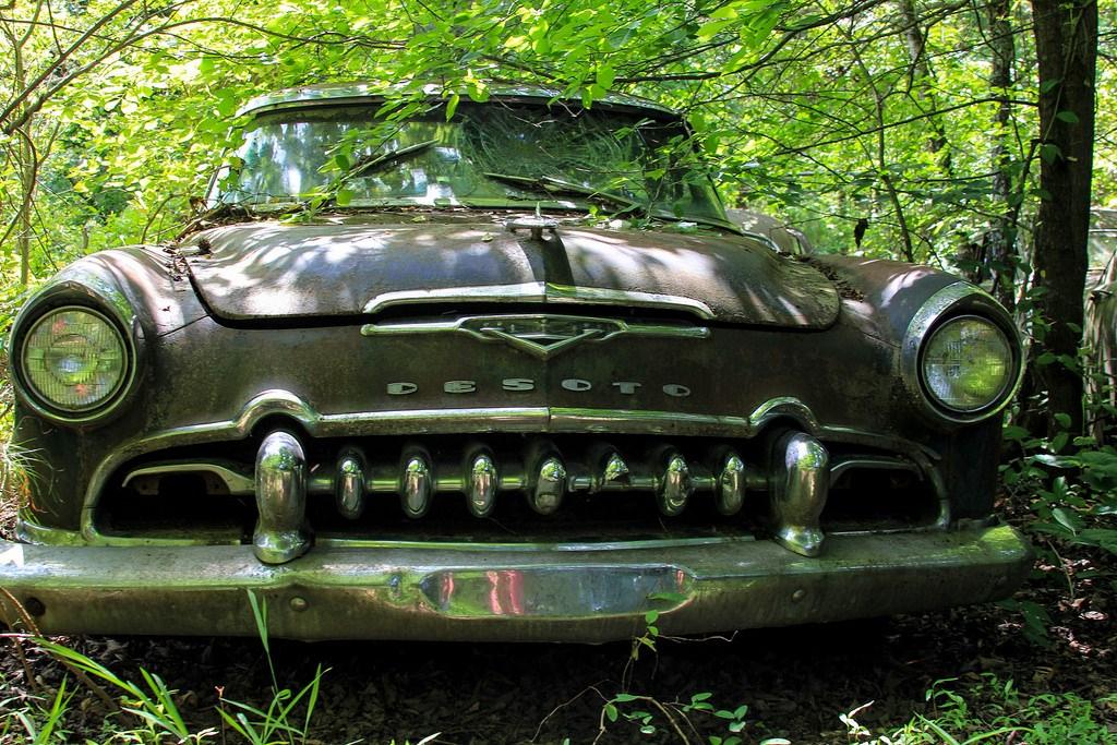 Кладбище старых автомобилей, фото 17