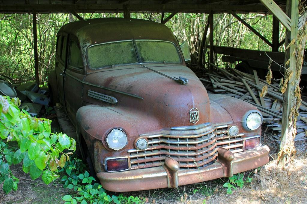 Кладбище старых автомобилей, фото 18