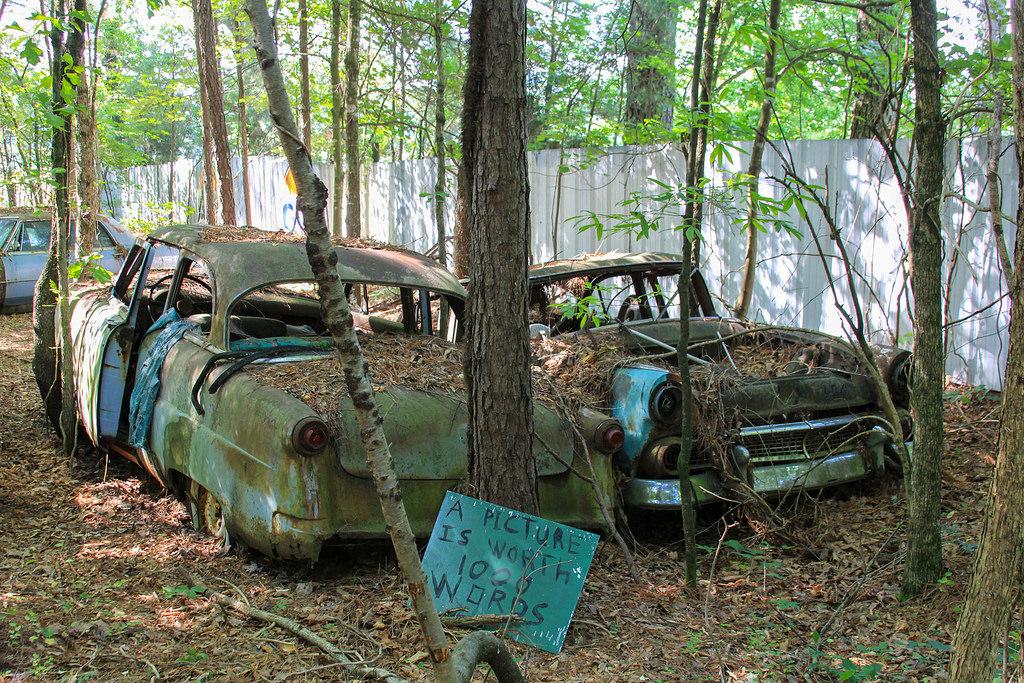Кладбище старых автомобилей, фото 3