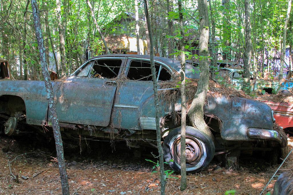 Кладбище старых автомобилей, фото  4