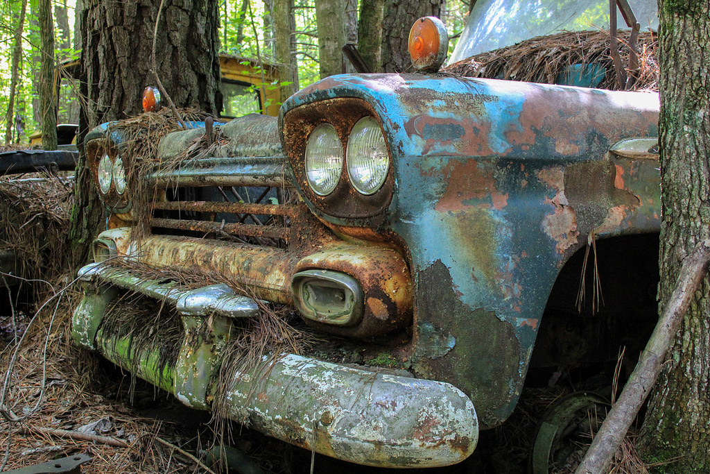 Кладбище старых автомобилей, фото 9