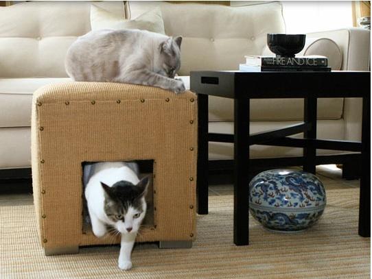 Домик для кошки фото 1
