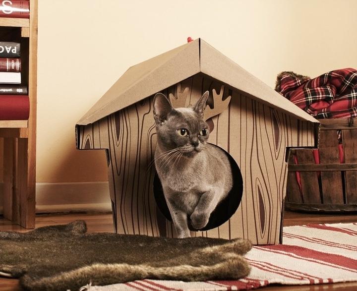 Домик для кошки фото 2