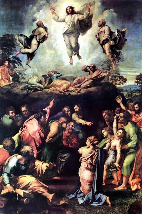 Преображение Христа (Рафаель Санти)