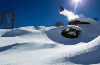 Фото: сноубордист Максим Балаховский