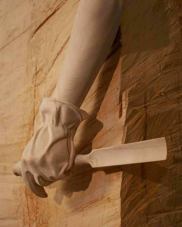 Деревянные скульптуры 4
