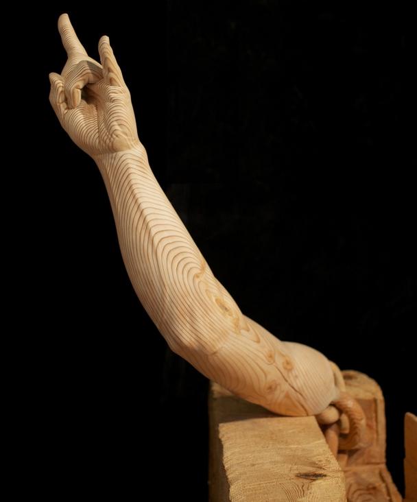 Деревянные скульптуры 7