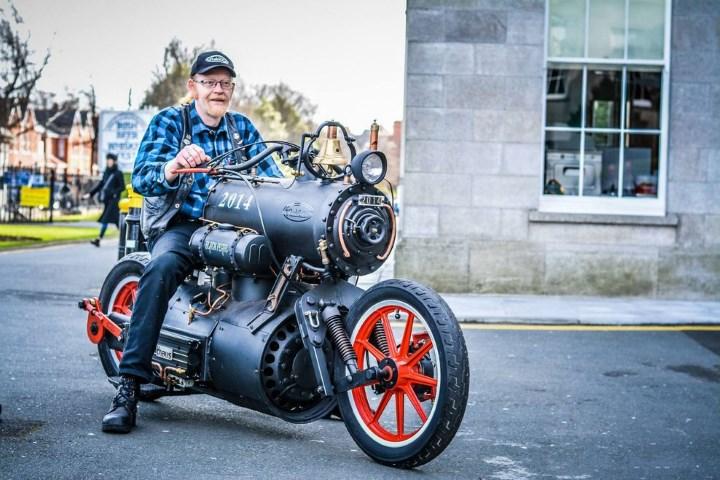 """""""Черная жемчужина"""" - мотоцикл в стиле стимпанк"""