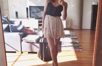 Повседневный летний look для молодых девушек