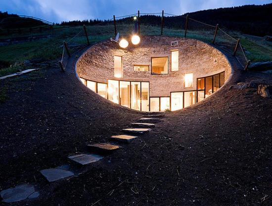 Дом в горах Швейцарии