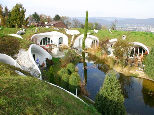Подземные дома в Швейцарии