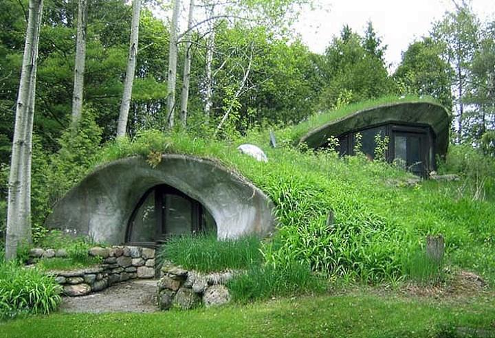 Подземные дома 1