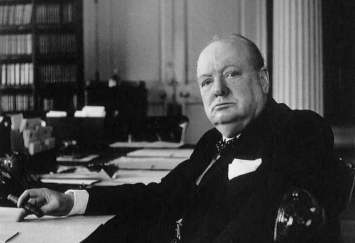 фото Уинстона Черчиля