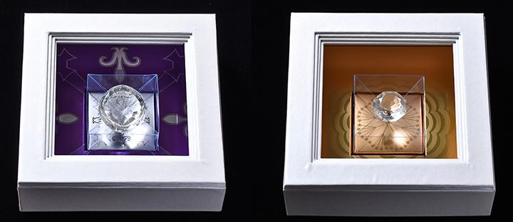 Конфеты в виде бриллиантов