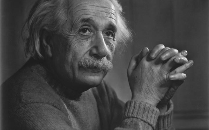 Альберт Ейнштейн фото