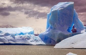 схождение ледника