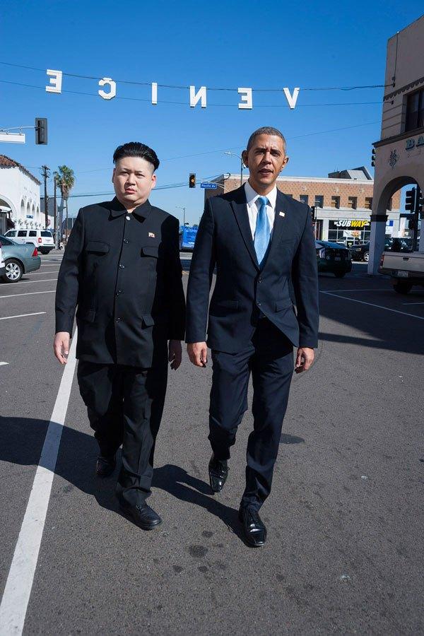 Барак Обама и Ким фото