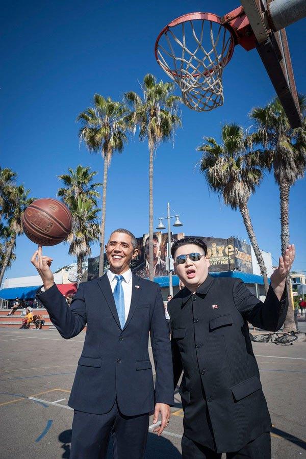 Барак Обама и Ким фото 4