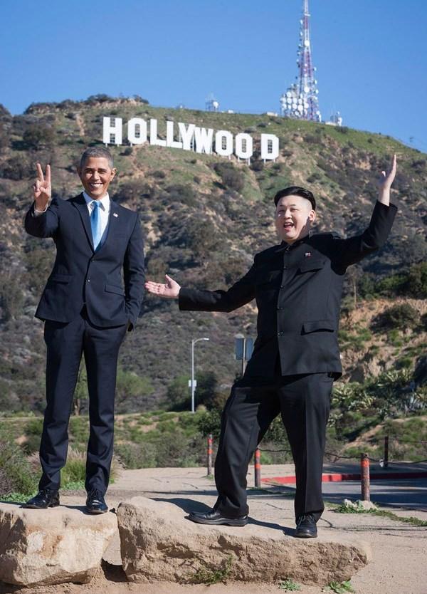 Барак Обама и Ким фото 6