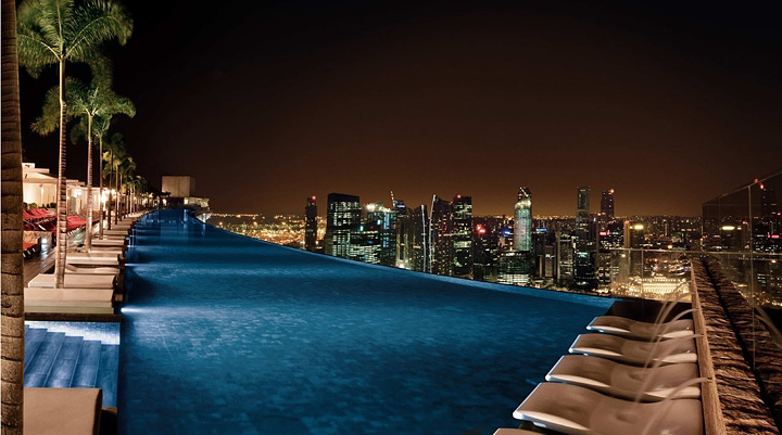 Отель с бассейном на крыше - Марина Бэй (Сингапур) 1