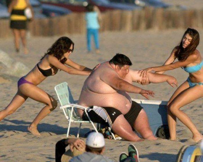 Смешные пляжные фото 8