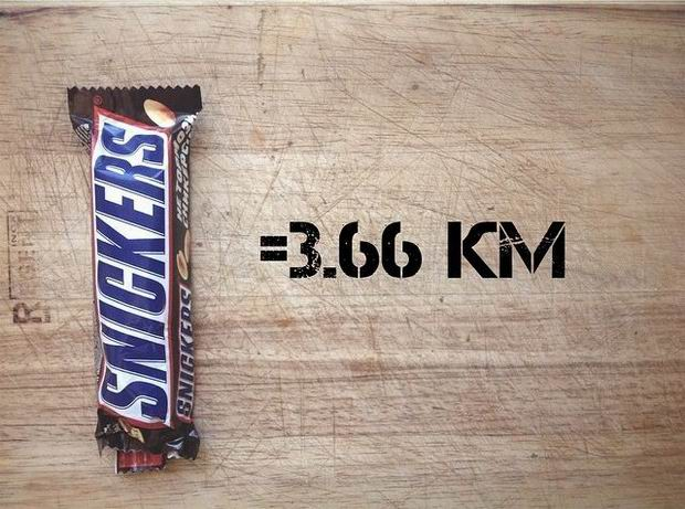 Сникерс, калории