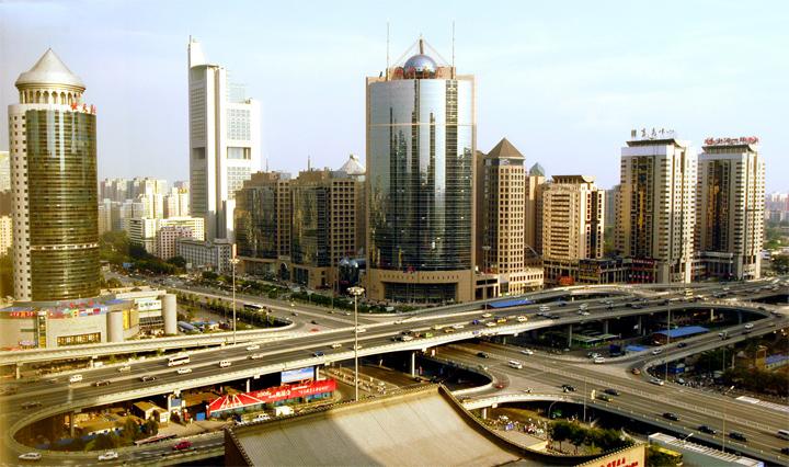 города Китая