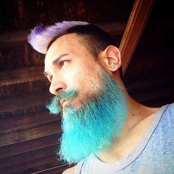 Разноцветные волосы у мужчин фото 2