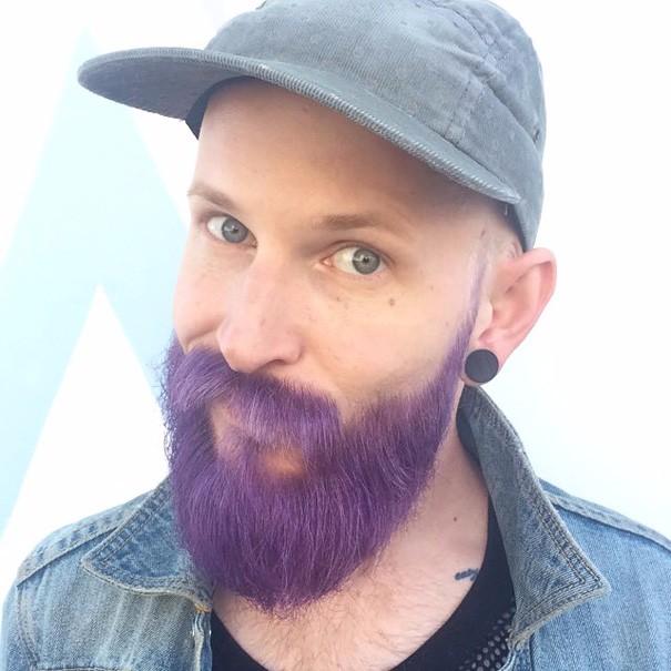 Разноцветные волосы у мужчин фото 6