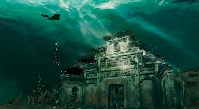 Подводный город Шичен