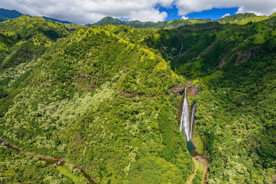 Водопад Манавайопуна  (Jurassic Falls)