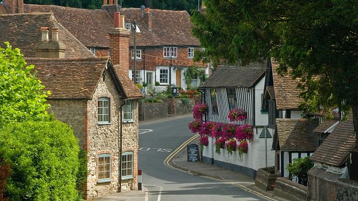 Улицы английских городов