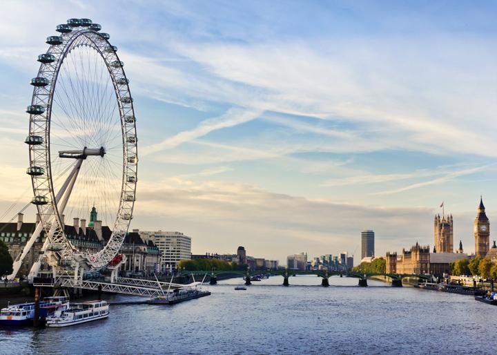 Лондонский глаз фото