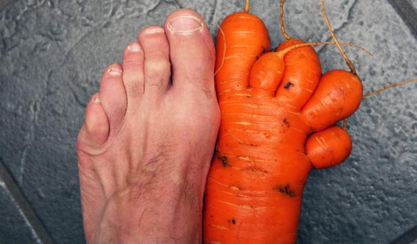 Необычная морковь