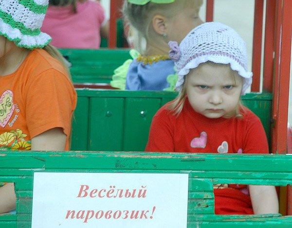 Смешные злобные дети фото 5