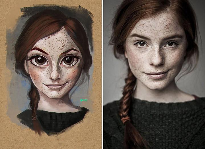 Рисунки со случайных людей фото 4