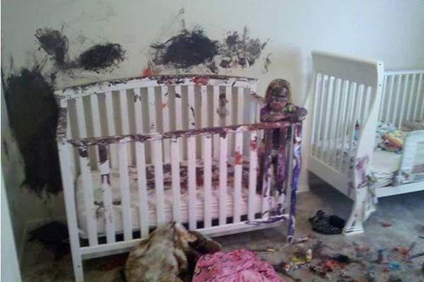 Дети разнесли дом фото 4