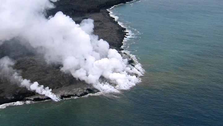 вулканы на Гавайях