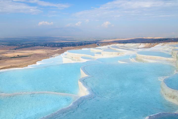 Геотермальные источники Памуккале
