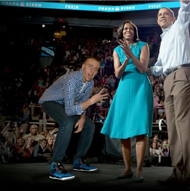 Peeje и Обама