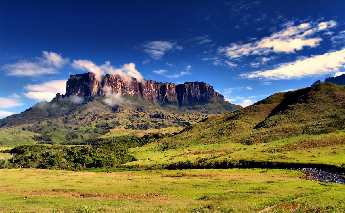 гора Рорайма в Венесуэлле